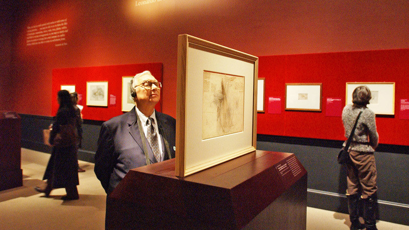 Encuentran en Francia un supuesto retrato de Maquiavelo atribuido a Da Vinci