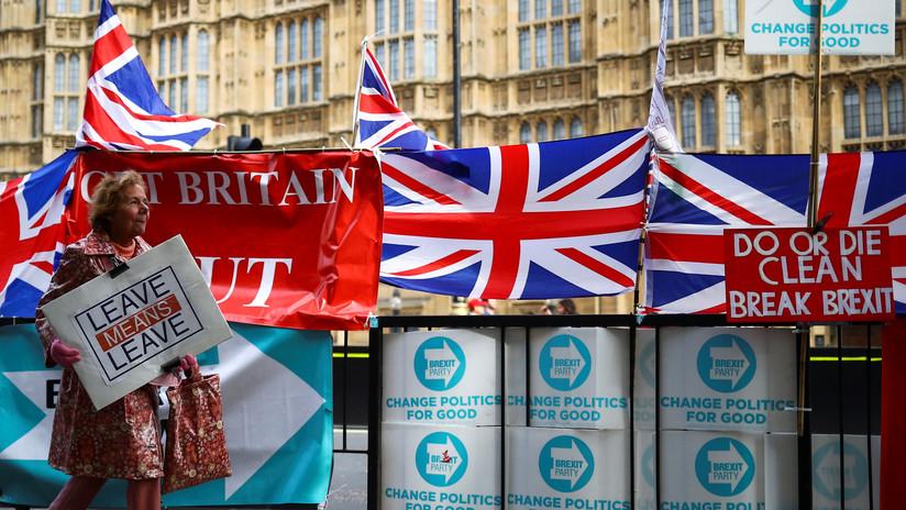 El Parlamento británico vota a favor de convocar elecciones generales anticipadas el 12 de diciembre