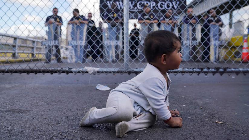 Cerca de 475.000 familias de migrantes fueron arrestadas en la frontera entre EE.UU. y México en el último año