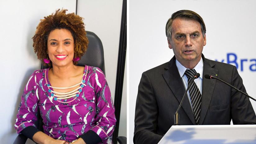 Ministerio Público de Brasil dice que mintió el testigo que vinculó a Bolsonaro con un sospechoso de matar a la activista Marielle Franco
