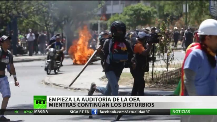 Bolivia: Comienza la auditoría de la OEA mientras continúan los disturbios