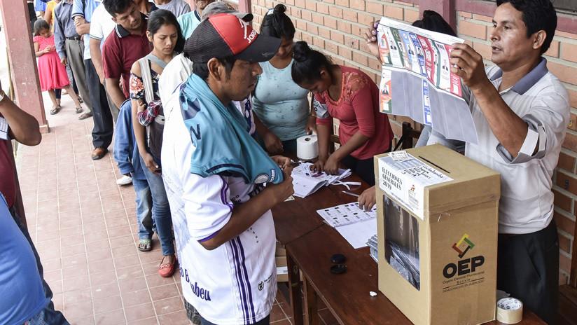 El Gobierno de Bolivia anuncia que la auditoría al proceso electoral comienza el jueves y será vinculante