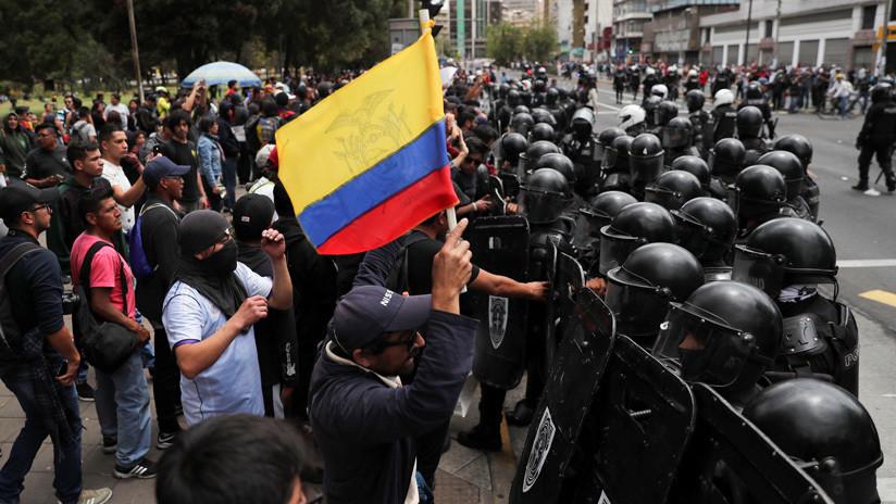 Los indígenas de Ecuador confirman la muerte de otra persona herida en las protestas antigubernamentales