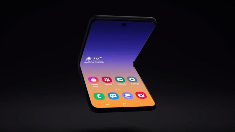 VIDEO: Samsung revela su próximo concepto de 'smartphone' con pantalla plegable