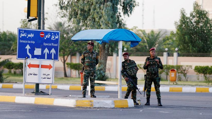 Al menos un muerto al explotar un proyectil cerca de la embajada de EE.UU. en Bagdad