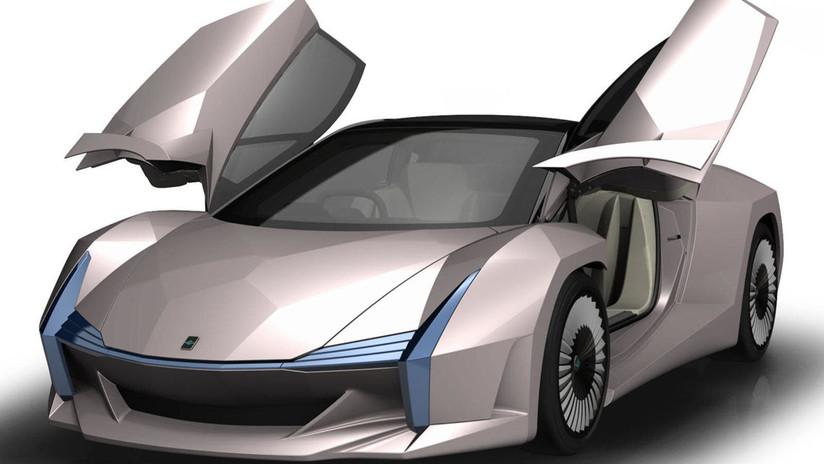Científicos japoneses construyen un auto deportivo con fibra de madera y desechos agrícolas (VIDEO, FOTOS)