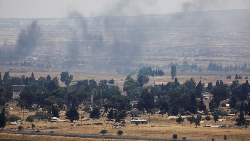 Un misil derriba un dron israelí en el sur del Líbano
