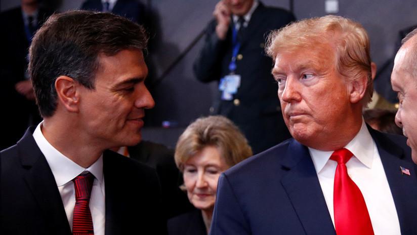 EE.UU. estudia sanciones contra España por su ayuda a Maduro