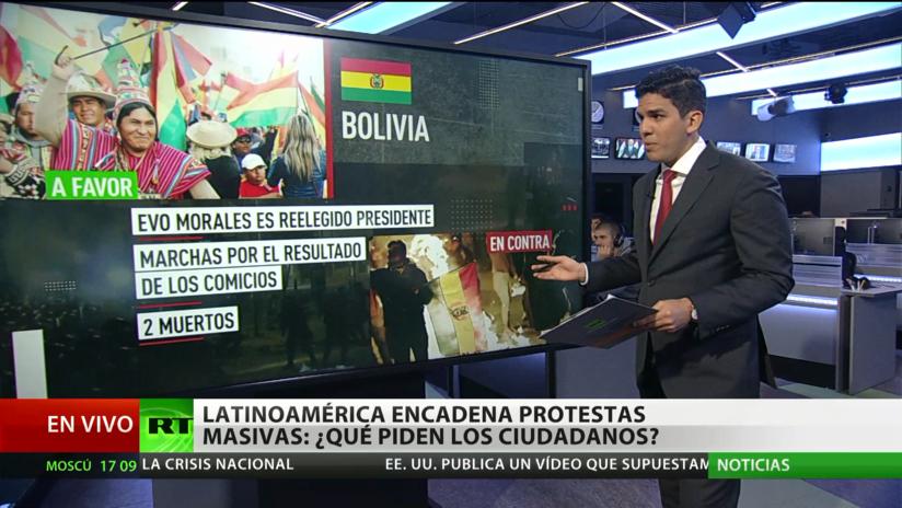 Protestas en Latinoamérica: ¿Se repetirá una primavera árabe?