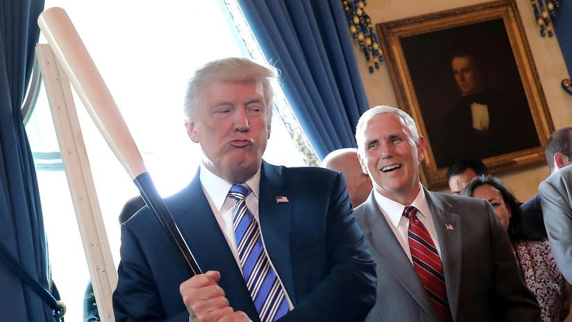 Vuelven a abuchear a Trump durante un partido de la Serie Mundial de béisbol (VIDEOS)