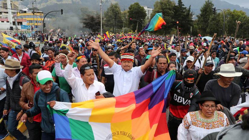 Unas 200 organizaciones sociales de Ecuador entregan proyecto sobre un nuevo modelo económico para el país