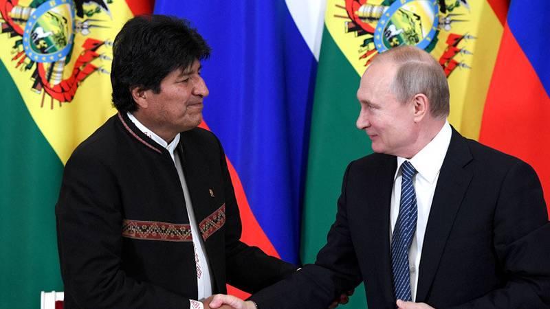 """""""Muy agradecido con el hermano Vladímir Putin"""": Morales comparte en las redes la carta de felicitación del presidente ruso"""