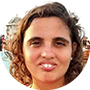Carol Barreto, directora del sindicato de los periodistas de Río de Janeiro.
