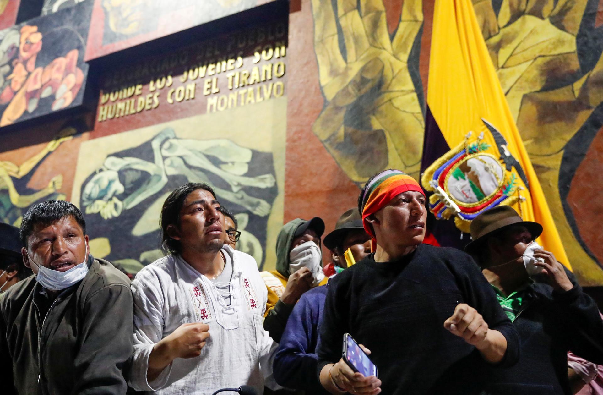 Революция в Эквадоре