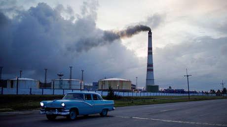 La planta termoeléctrica de Santa Cruz del Norte, Cuba, 23 de septiembre de 2019.