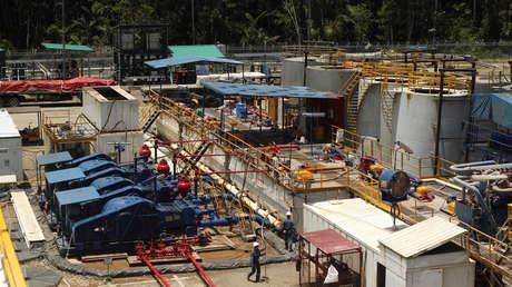 Campo petrolero de la estatal ecuatoriana <strong><a href=
