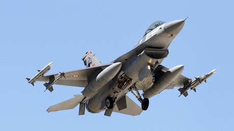 Un caza turco F-16 / Imagen ilustrativa