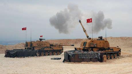 El Ejército turco lanza su operativo militar en el norte de Siria, el 9 de octubre de 2019