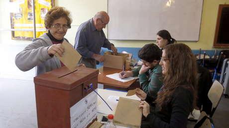 Elección en Pando, Uruguay. 20 de octubre de 2019.