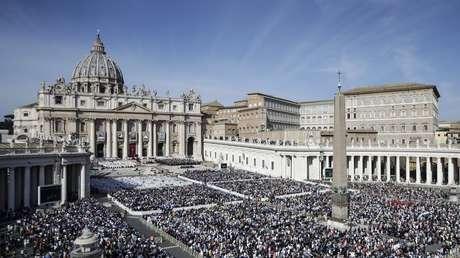 La Plaza de San Pedro, en el Vaticano, el 13 de octubre de 2019.