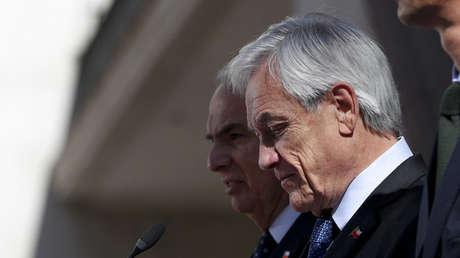 El presidente Sebastián Piñera en Santiago, Chile, el 24 de octubre de 2019.