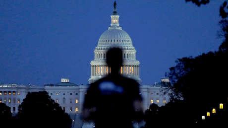 Exterior del Capitolio en Washington D.C., Estados Unidos.
