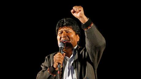 El presidente de Bolivia, Evo Morales.
