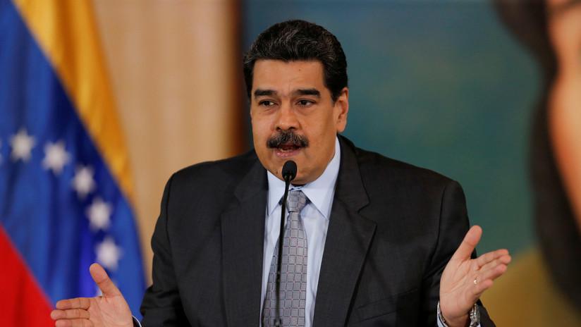 """""""Quieren desestabilizar Bolivia con la misma fórmula que aplicaron contra Venezuela"""", denuncia Maduro"""