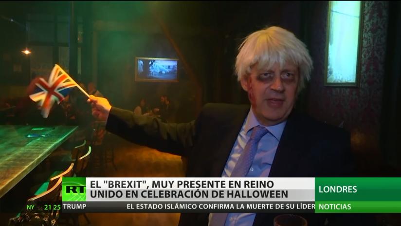 El Brexit, muy presente en Reino Unido en la celebración de Halloween
