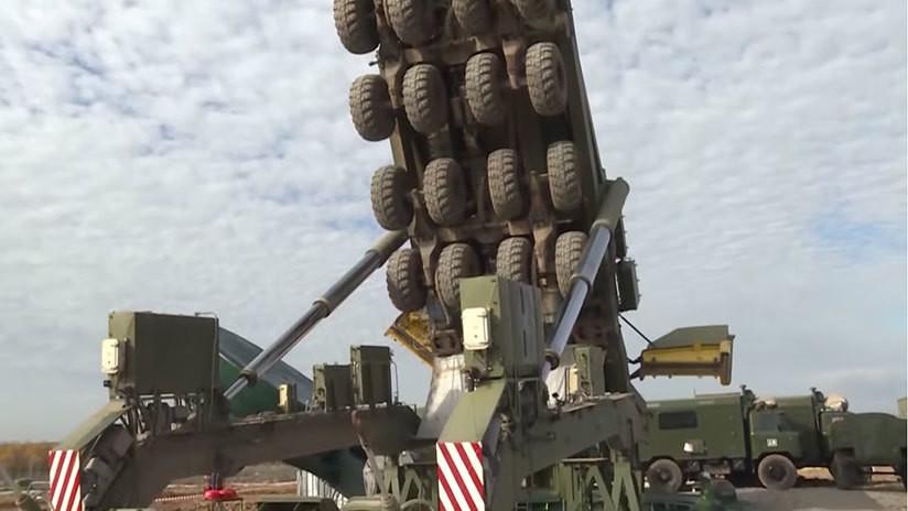 VIDEO: El Ministerio de Defensa ruso muestra la instalación de un misil intercontinental Yars en un silo de lanzamiento