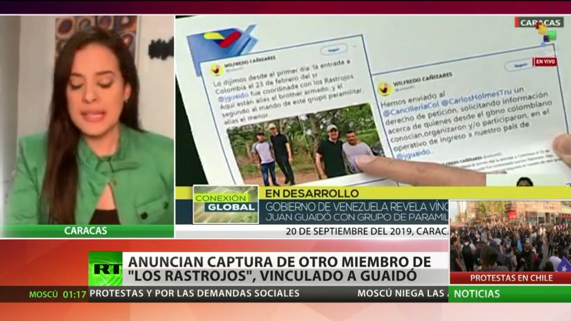 Anuncian captura de otro miembro de 'Los Rastrojos', vinculado a Guaidó