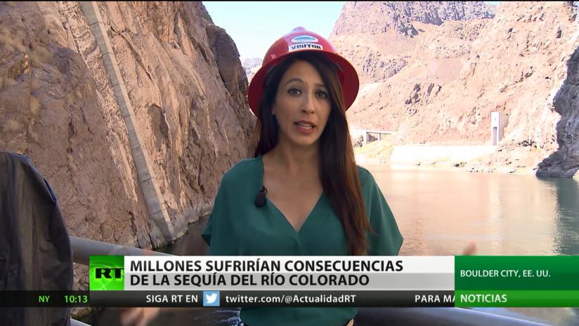 Advierten sobre las consecuencias de la sequía del río Colorado, que afectaría a millones de personas