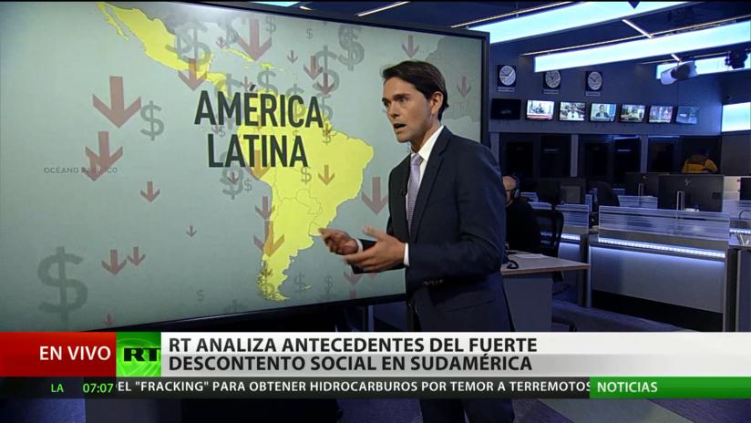 RT analiza los antecedentes del fuerte descontento social en Sudamérica