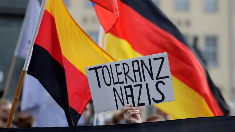 """La ciudad alemana de Dresde declara una """"emergencia nazi"""""""