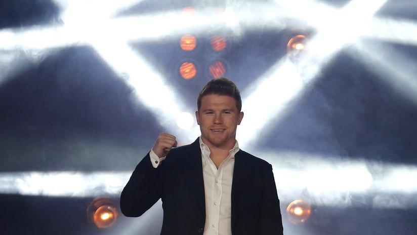 VIDEO: El momento exacto en que Saúl 'Canelo' Álvarez noquea a su rival ruso