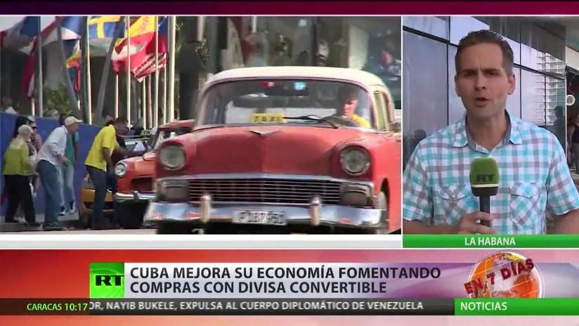 Cuba fomenta su economía impulsando las compras con divisa convertible
