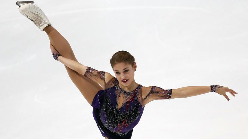 VIDEO: Premian con la medalla de oro a una patinadora estadounidense (la ganadora había sido una rusa)
