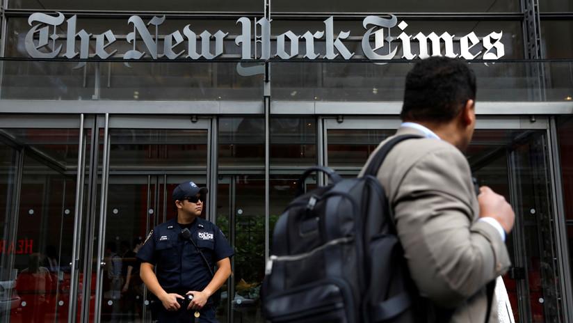 Rusia acusa a NYT de falsear la noticia del retraso de un vuelo con un diplomático de EE.UU. 'por culpa de Moscú'