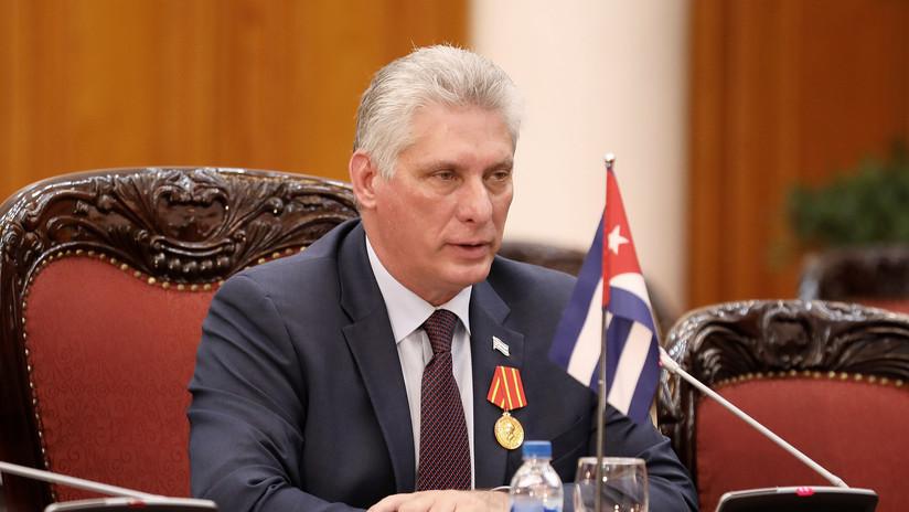 """El presidente de Cuba: """"La OEA se consolida como instrumento de presión política de EE.UU."""""""