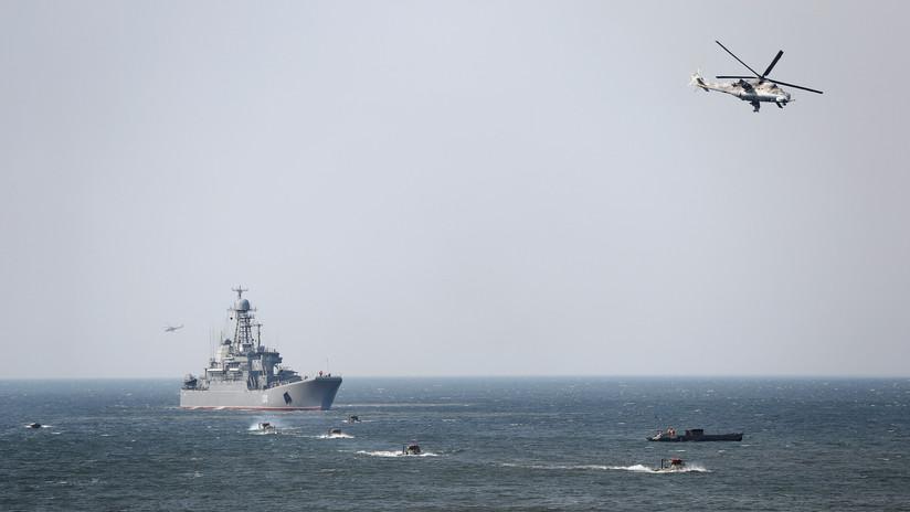 La Armada y las Fuerzas Aeroespaciales de Rusia realizan maniobras conjuntas en el Mediterráneo