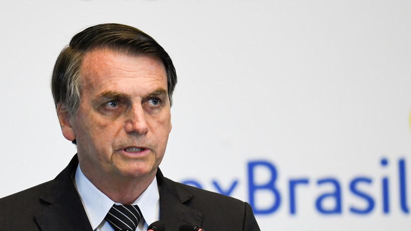 """""""Lo peor está por venir"""": Bolsonaro augura una catástrofe """"criminal"""" tras el derrame de petróleo en Brasil"""