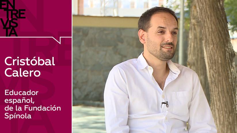 """Educador español Cristóbal Calero: """"Debemos asumir la realidad de que todos los niños tienen una identidad virtual y digital"""""""