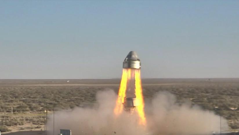 VIDEO: La nave Starliner de Boeing prueba con éxito sus sistemas de emergencia para una futura misión a la EEI