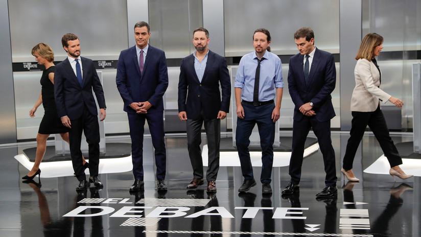 Los puntos clave del único debate entre candidatos a presidir España