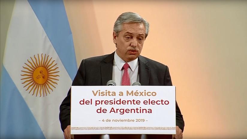 """Alberto Fernández sobre el FMI: """"queremos cumplir con los compromisos, pero no a costa de mayor deterioro social"""""""
