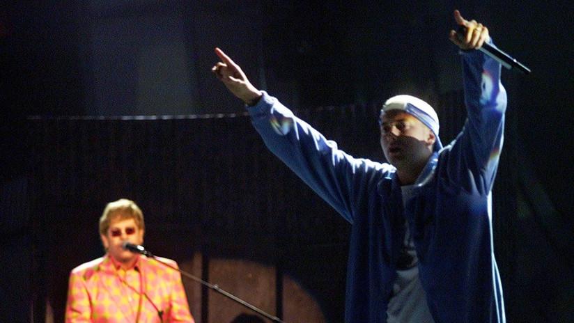 Eminem estuvo a punto de morir por sobredosis y lo salvó Elton John