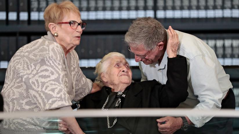 VIDEO: Sobrevivientes del Holocausto se reúnen con la mujer que les salvó la vida hace casi 75 años