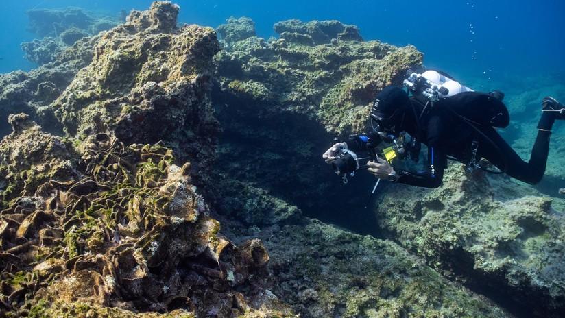 FOTOS: Descubren cinco naufragios en Grecia y el más antiguo tiene 2.500 años y estaba equipado con anclas de piramidales de piedra
