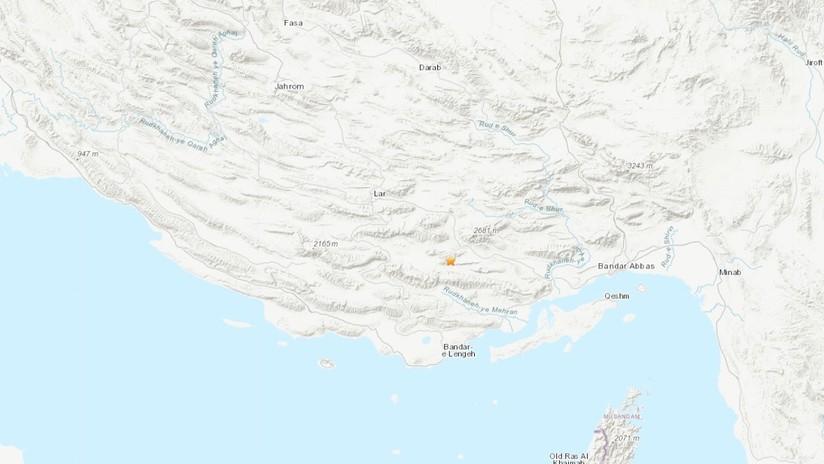 Un terremoto de magnitud 5,3 se registra en Irán