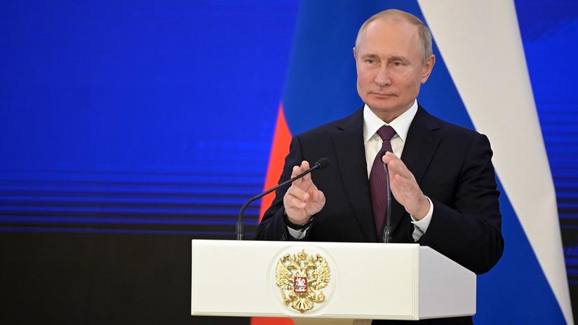 """Putin: """"Pondremos en servicio armas modernas que aún no tienen otros países"""""""